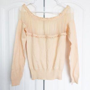 Sweaters - | delicate ots feminine sweater |